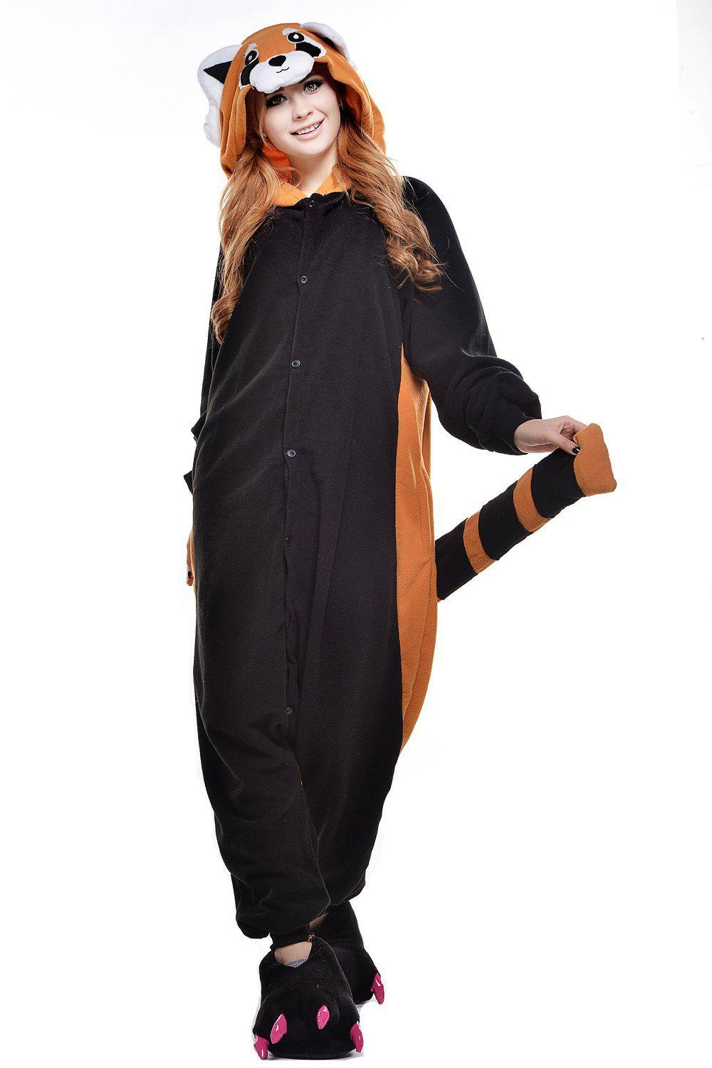 Red Panda Onesie - Fleece-Kigurumi-Belife
