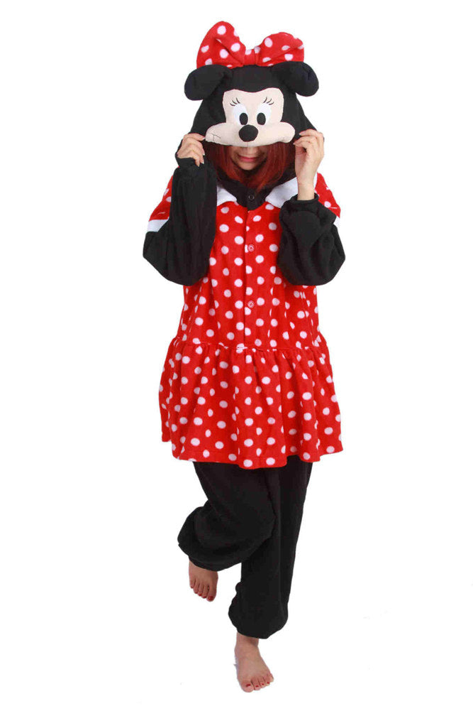 0ab655cbc9cb Minnie Mouse Onesie - Fleece – Belife Animal Onesie for Kids and Adults