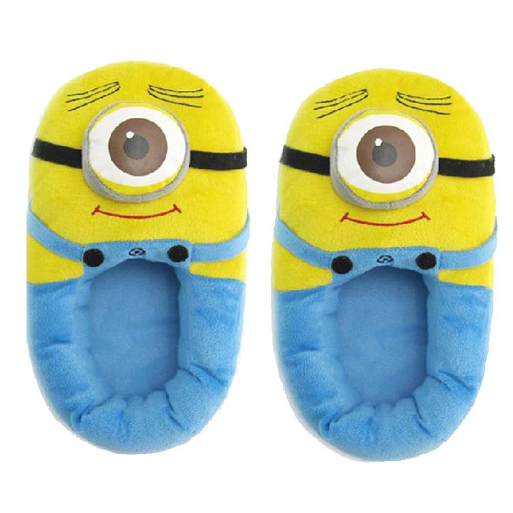 Minion Plush Slippers-Shoes-Belife
