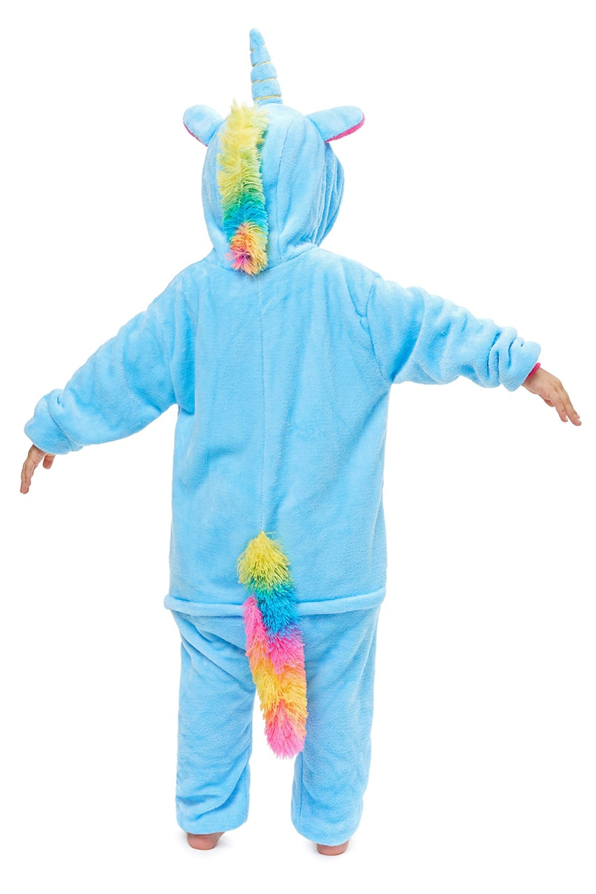 Colored Mane Unicorn Onesie - Flannel-Kigurumi-Belife