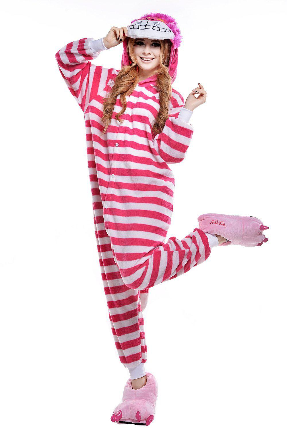 Cheshire Cat Onesie - Fleece-Kigurumi-Belife
