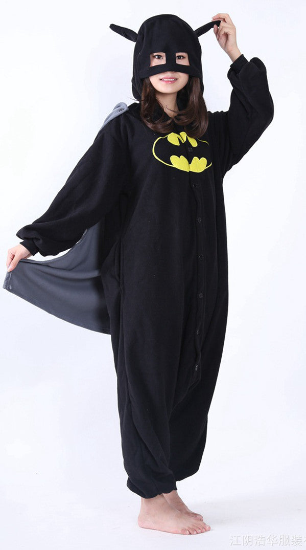 Batman Onesie - Fleece-Kigurumi-Belife