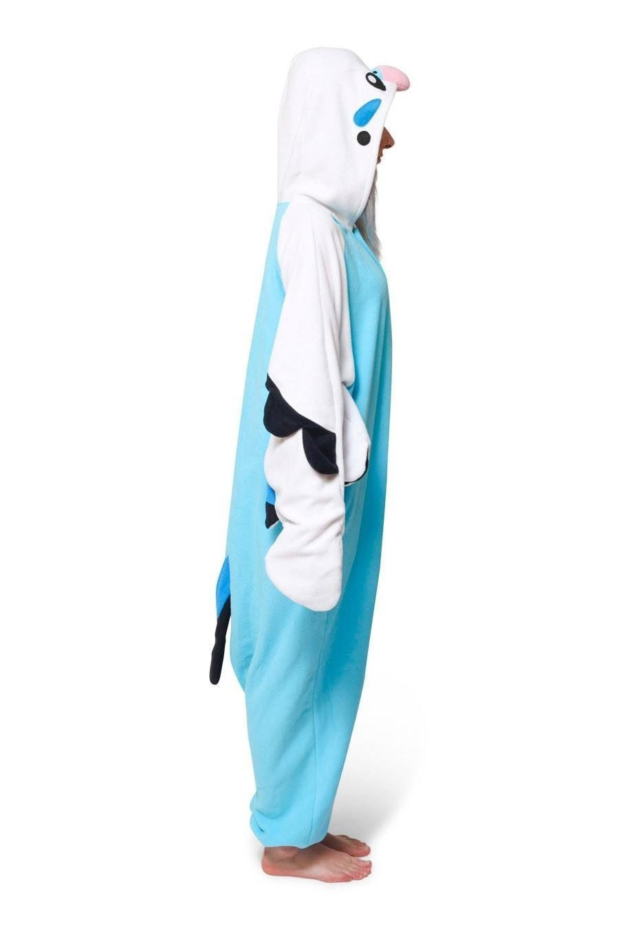 Blue Budgie Onesie - Fleece-Kigurumi-Belife