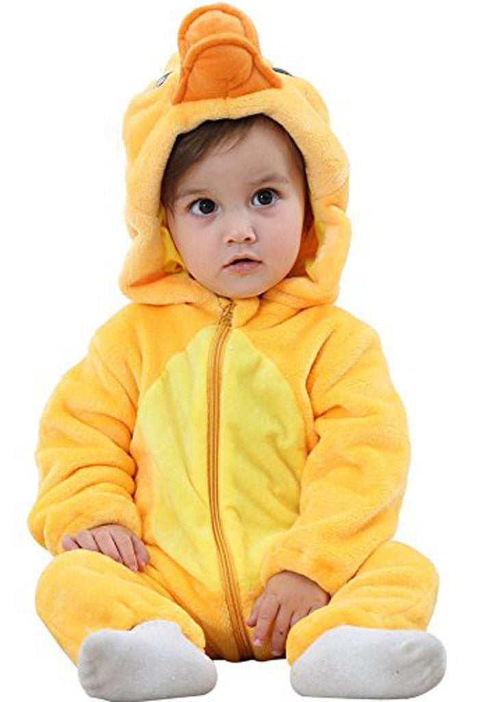3ecf9bca1f38 Yellow Duck Onesie - Flannel – Belife Animal Onesie for Kids and Adults