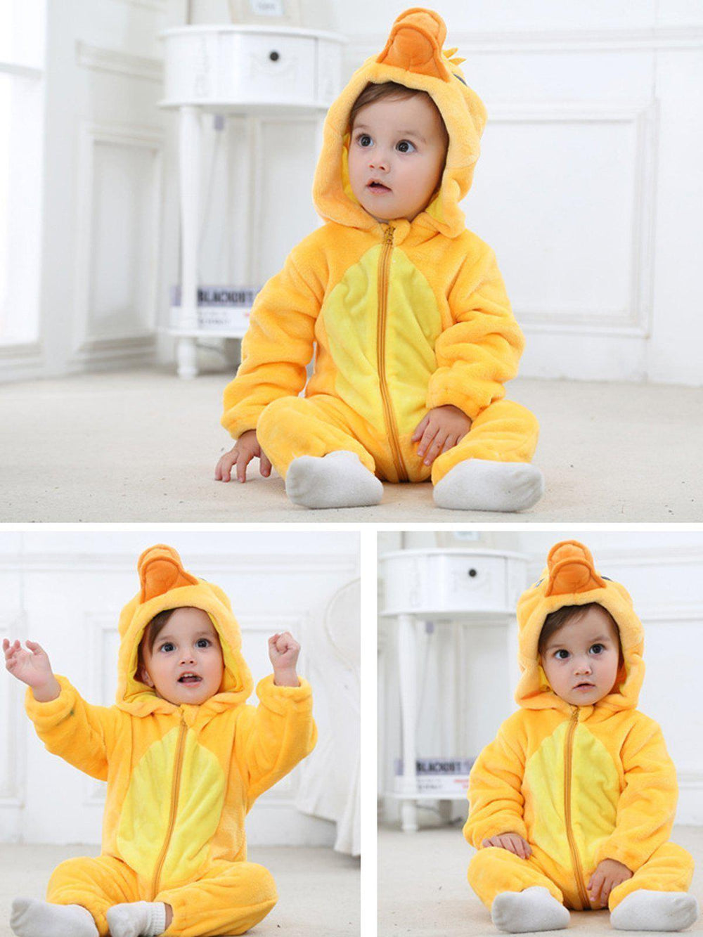 Yellow Duck Onesie - Flannel-Kigurumi-Belife