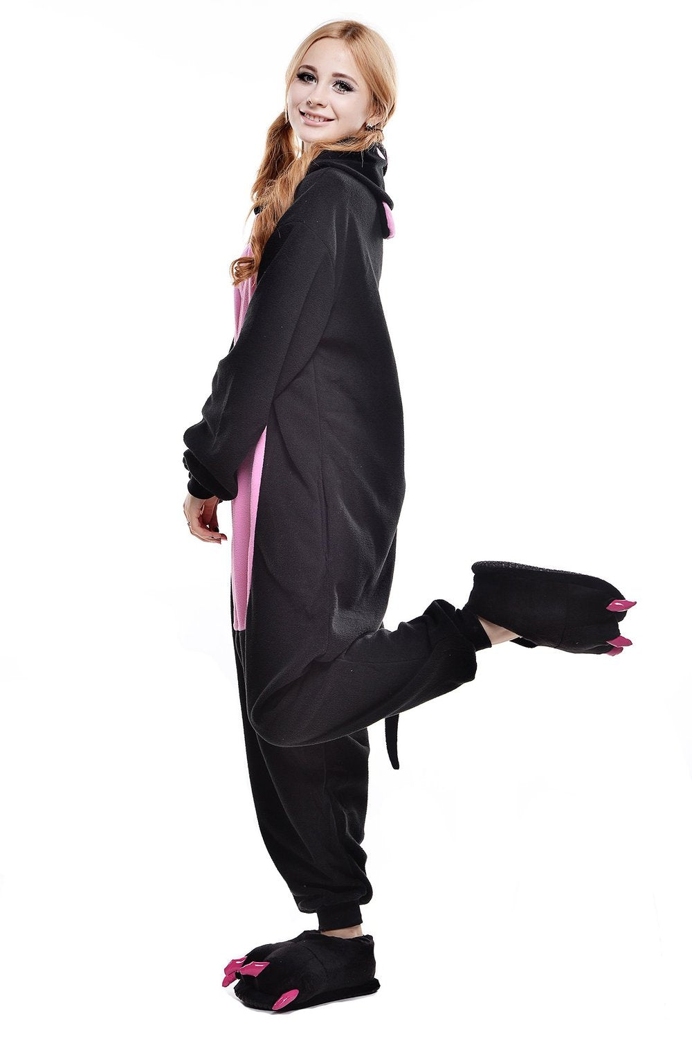 Black Pig Onesie - Fleece-Kigurumi-Belife