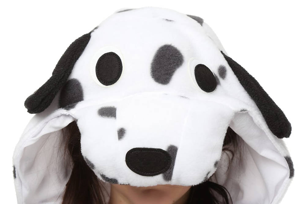 Spotty dog Onesie - Fleece-Kigurumi-Belife