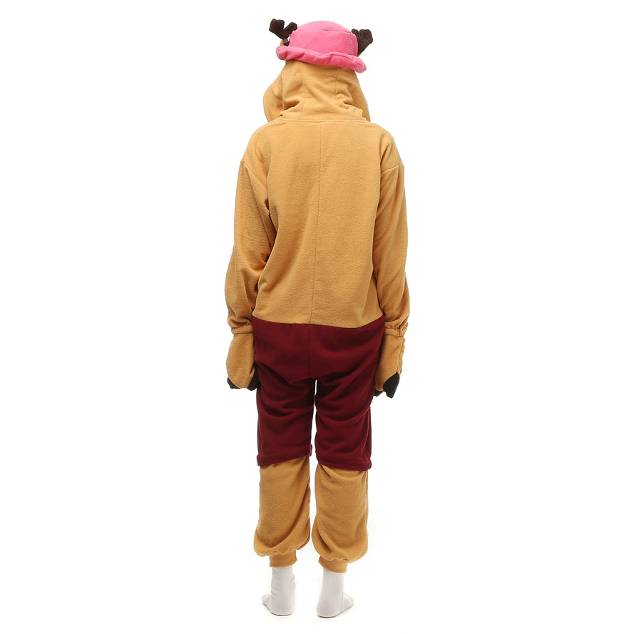 Deer Chopper Onesie - Fleece-Kigurumi-Belife