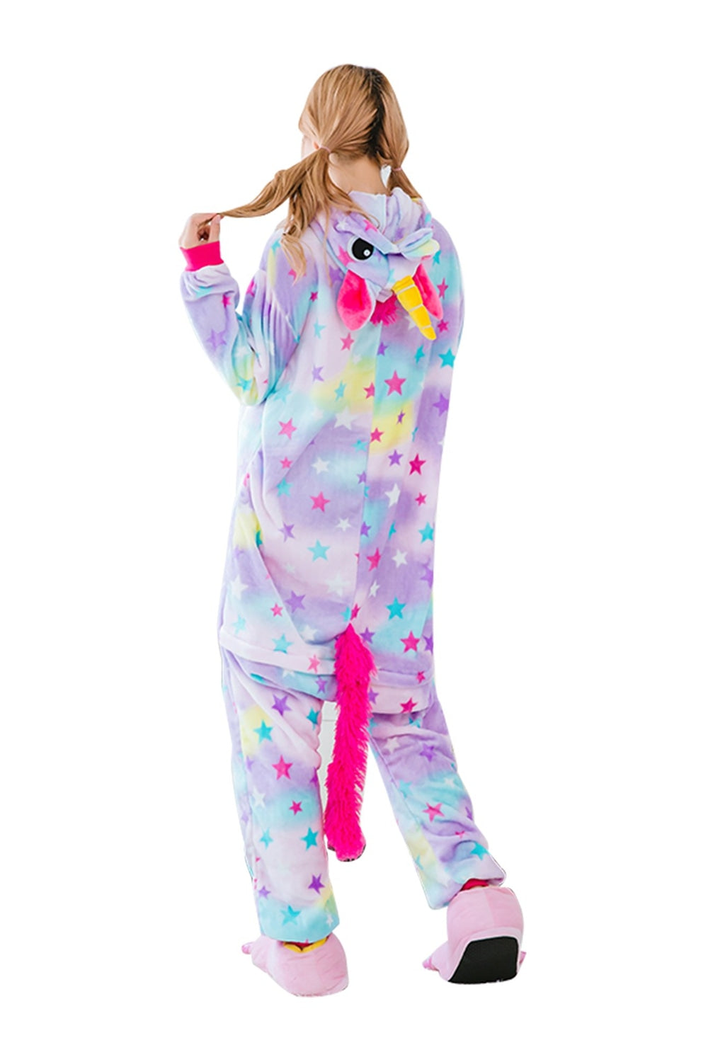 Dreamin' Star Unicorn Onesie - Flannel-Kigurumi-Belife