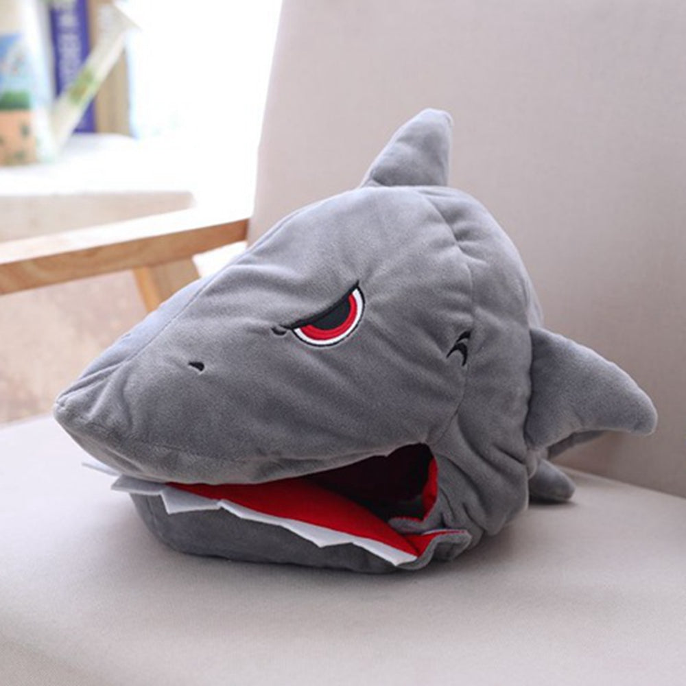 Plush Shark Head-Cap-Belife