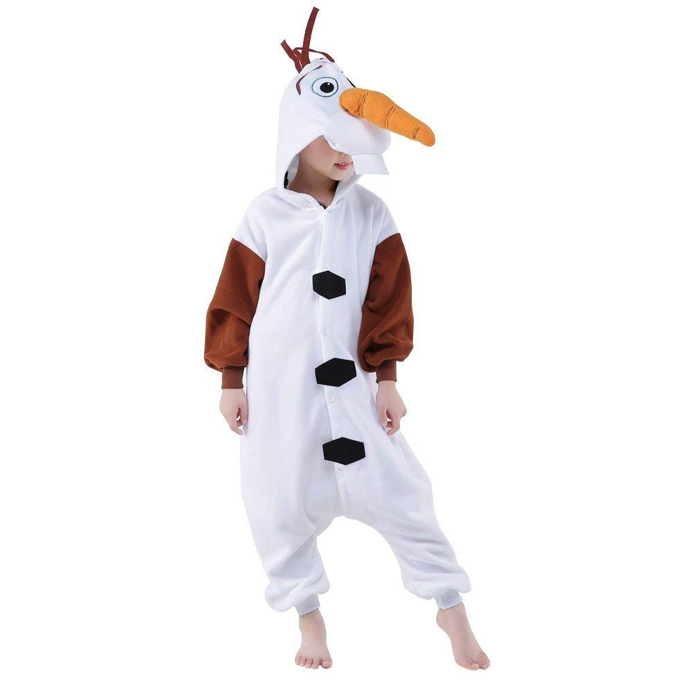 0e157addd346 Olaf Onesie - Fleece – Belife Animal Onesie for Kids and Adults