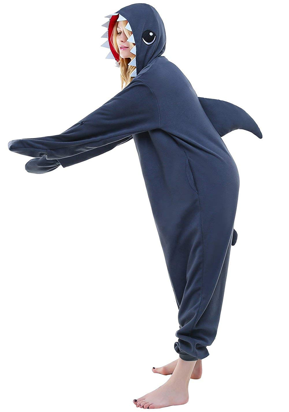 Shark Onesie - Fleece-Kigurumi-Belife