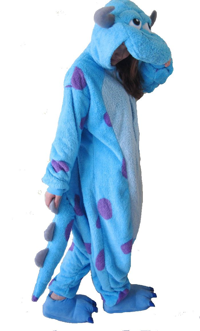 Sulley Onesie - Fleece Thicken-Kigurumi-Belife