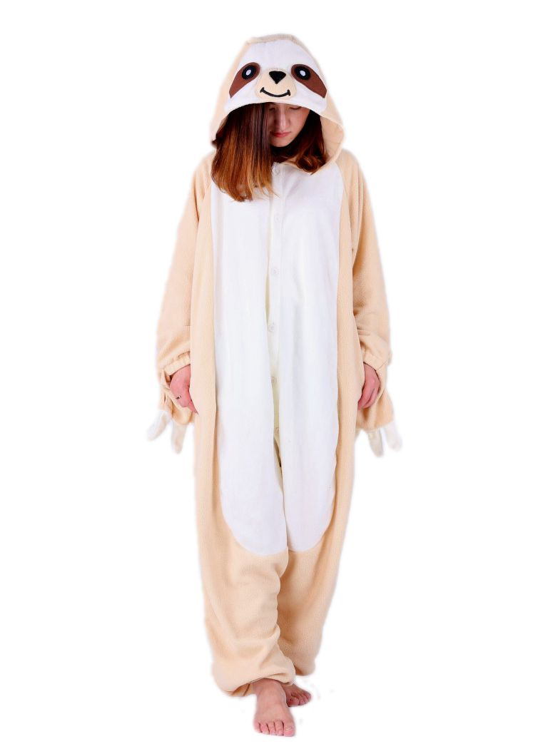 Sloth Onesie - Fleece-Kigurumi-Belife