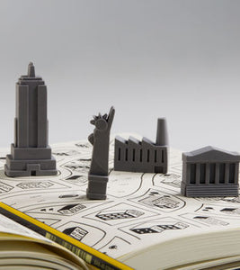 Mini Architecture City Erasers