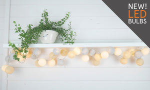 LED String Fairy Light Sets - Glow