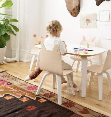 Oeuf NYC Birch Bear set of chairs