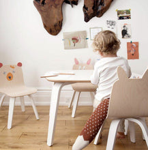 Oeuf white children's play desk