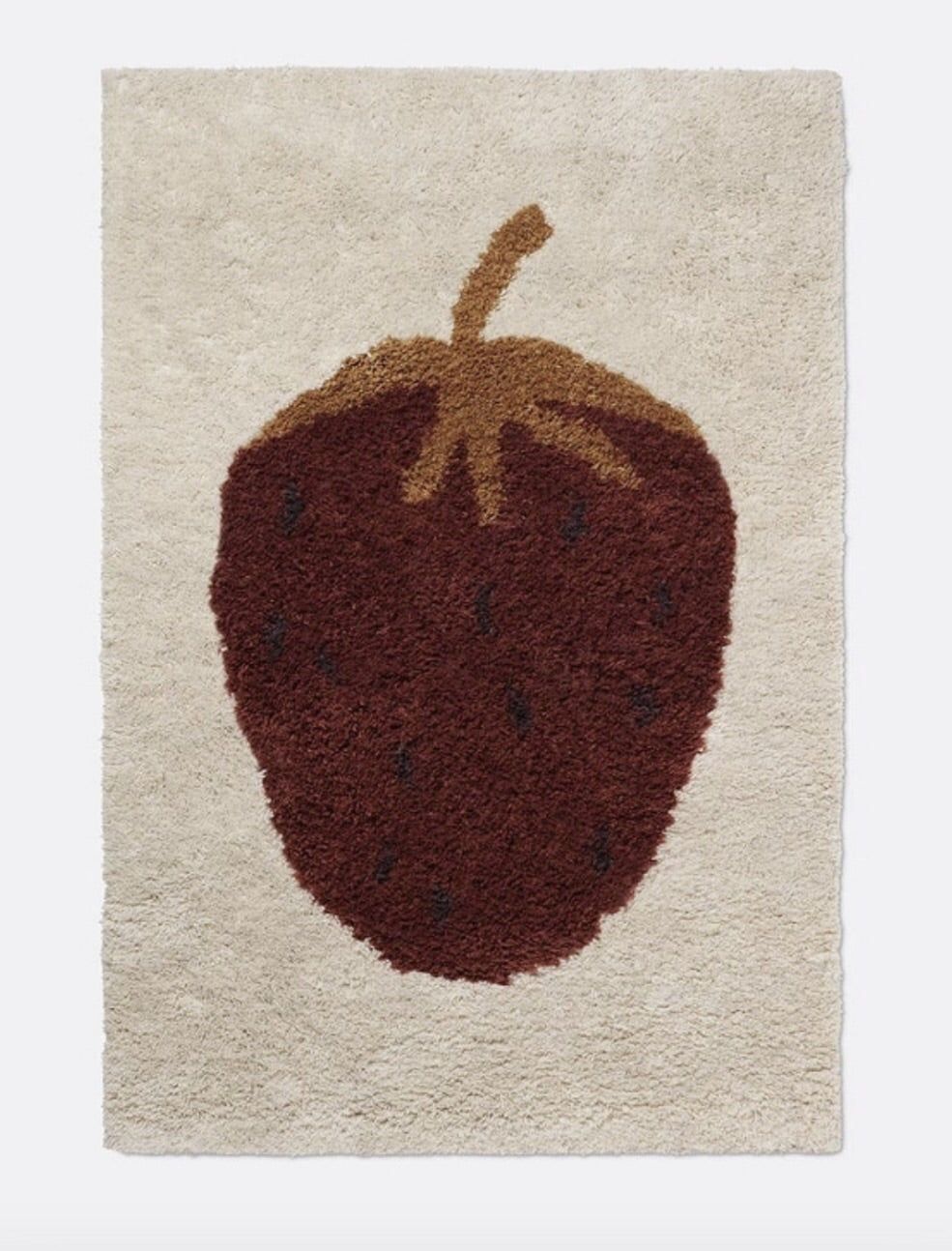 Strawberry Ferm Living Rug / Small Pre order