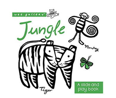 Wee Gallery Jungle Baby book