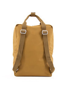 New Sticky Lemon Backpack Large - Caramel Fudge, Sugar Brown and Violet.
