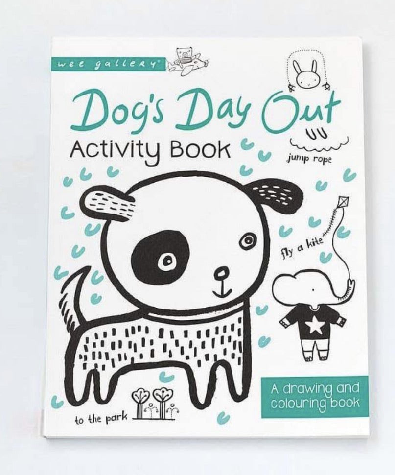Wee Gallery Dog Activity Book
