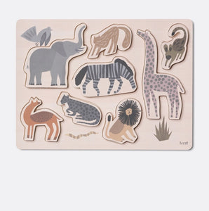 Ferm Living Wooden Safari Puzzle (shop display )