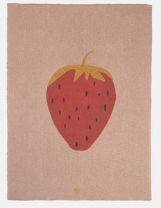 Ferm Living Strawberry Blanket