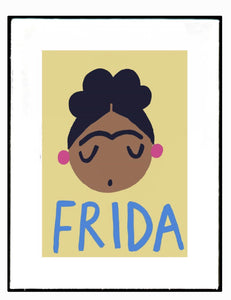 Wolfnoodle 'Frida Love' Print