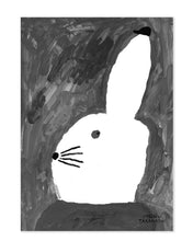 Mogu Takahashi  'Bunny with small hat ' poster