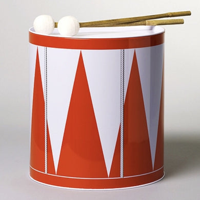 Acne Jr Trumma Red Drum and Storage Tin In Red