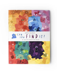 Wee Gallery 'Can you find it' Book