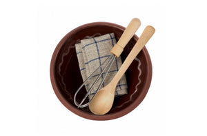 Maileg bowl and utensil set