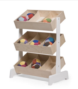 Oeuf NYC Toy Storage In Birch