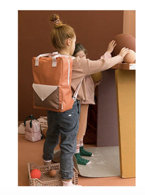 New Sticky Lemon Large Backpacks in Tangerine and Peony Pink