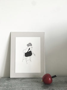 My Lovely thing Ballet Girl small print