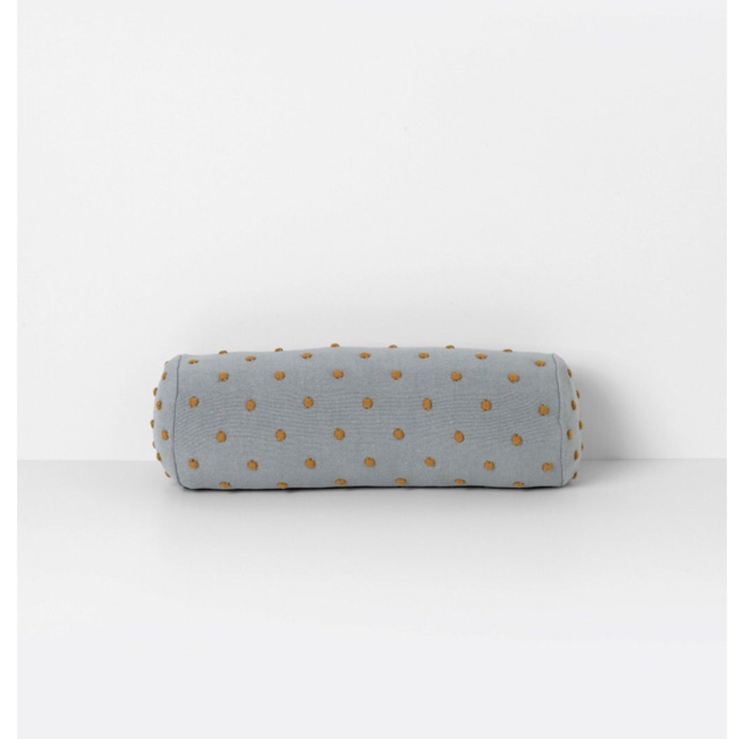 Ferm Living Popcorn Bolster - Dusty Green