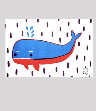 Marta Abad Blay 'Whale' Print