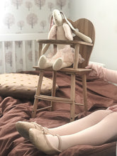 Heart Wooden Doll's Play Highchair