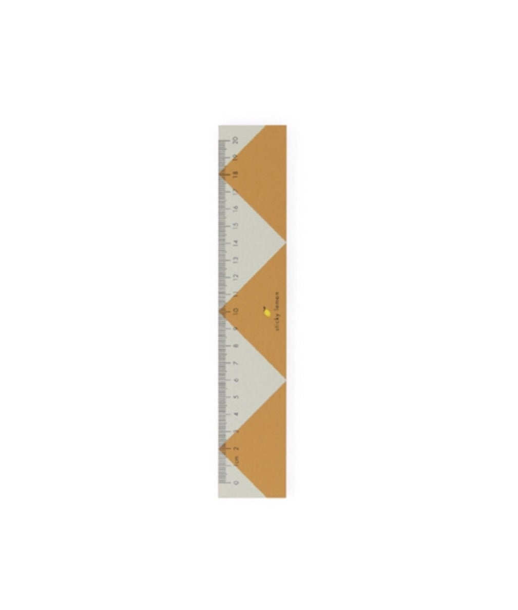 Sticky Lemon Zig Zag Ruler