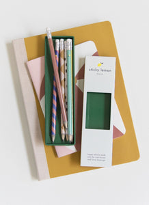Sticky Lemon Pencil Set