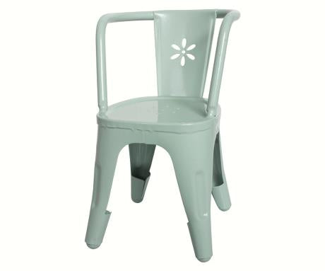 Metal Chair in Green