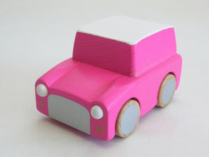 Kuruma Classic Wooden Wind Up Car