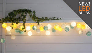 LED String Fairy Light Sets - Primrose