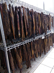 Biltong Drying room at Weston Biltong/Big on Flavour