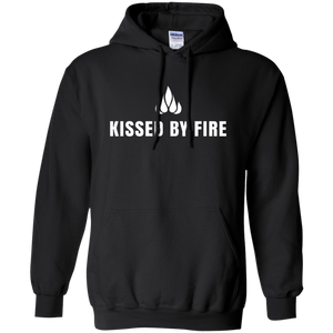 Kissed by fire hoodie