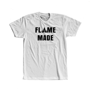 Flame made T-shirt