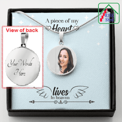 In Memorial Photo Charm Jewelry
