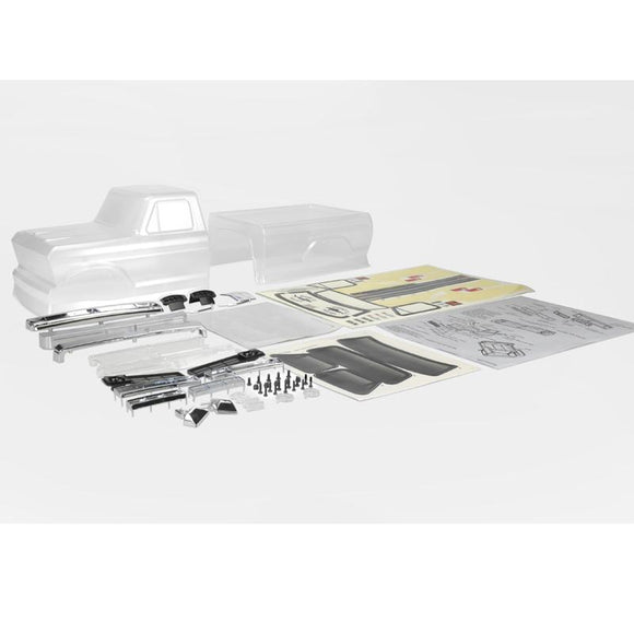 Carisma 16282 1976 Ford F-150 Half Cab 2 piece body set