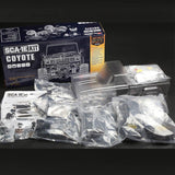 CARISMA 79168 SCA-1E COYOTE TRUCK KIT WITH PERFORMANCE TYRES  (WB
